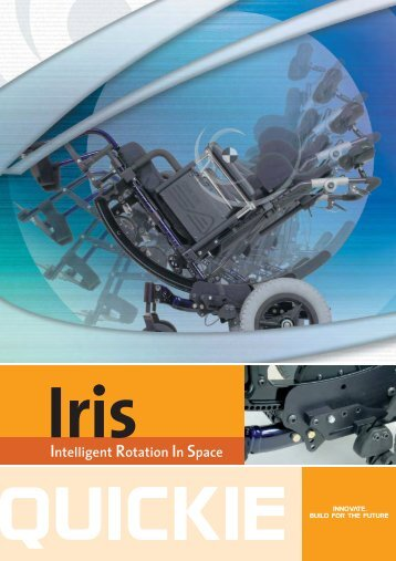 View Quickie Iris Wheelchair Brochure
