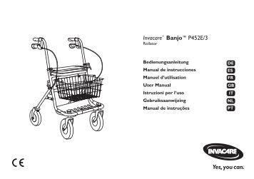 Invacare® Banjo™P452E/3