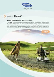 Invacare® Comet™ NEW - Neigaliojovezimelis.lt