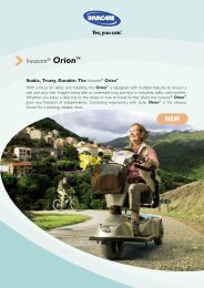 Invacare® Orion™ NEW - Neigaliojovezimelis.lt