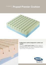 Invacare® Propad Premier Cushion - Neigaliojovezimelis.lt