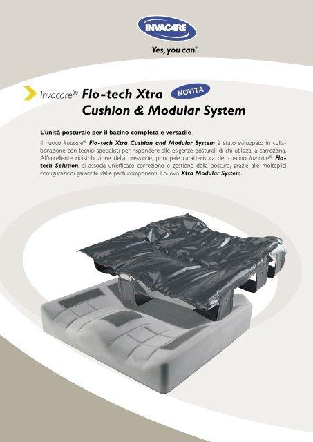 Invacare® Flo-tech Xtra Cushion & Modular System