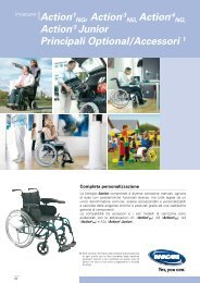 Action®1 NG, Action® 3 NG, Action®4 Action® 3 Junior ... - Invacare