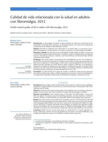 Imprimir este artículo - Revista Colombiana de Reumatología