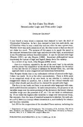 Do Not Claim Too Much: Second-order Logic and First-order Logic