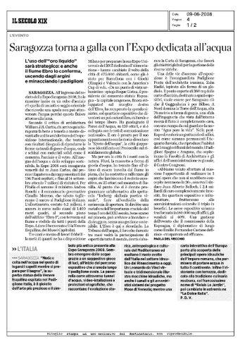 Saragozza torna a galla con l'Expo dedicata alfacqua
