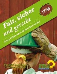Fair, sicher und gerecht - Grüne Heddesheim