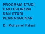8. Presentasi Prodi ESP - PMB 2012 - FE Unpad