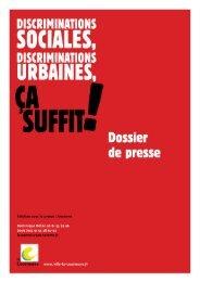 Dossier de presse - 5 mai 2009 - Courneuve