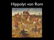 Hippolyt von Rom
