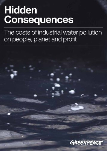 Hidden Consequences, The costs of industrial water ... - Martin Forter
