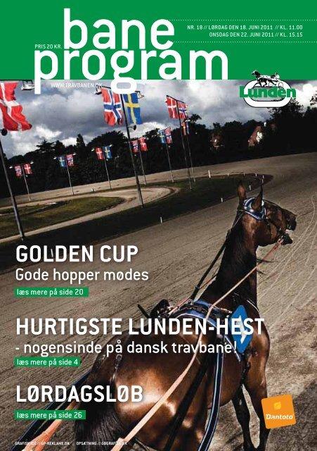 GOLDEN CUP HURTIGSTE LUNDEN-HEST LØRDAGSLØB
