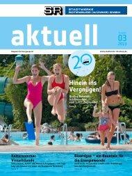 Ausgabe 03/201 - Stadtwerke Rotenburg