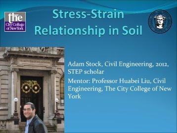 Stress-Strain Relationship in Soil