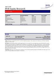 HVB Equity Research - Deutsche EuroShop