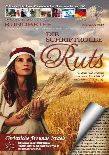 2012 Dezember Die Schriftrolle Ruts - Christliche Freunde Israels
