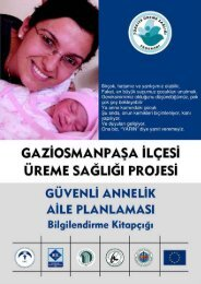 (İndir) Güvenli Annelik Aile Planlaması Bilgilendirme Kitapçığı - IBC