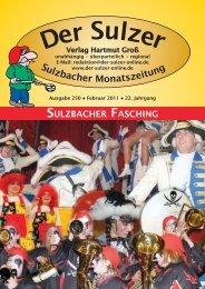 0 68 97 / 5 49 32 Fax - Der Sulzer