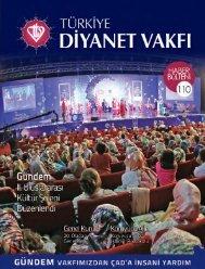 Haber Bülteni 110++.indd - Türkiye Diyanet Vakfı
