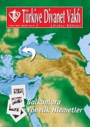 Bulten 86 - Türkiye Diyanet Vakfı