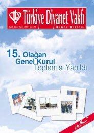 TDV Haber Bülteni - Türkiye Diyanet Vakfı