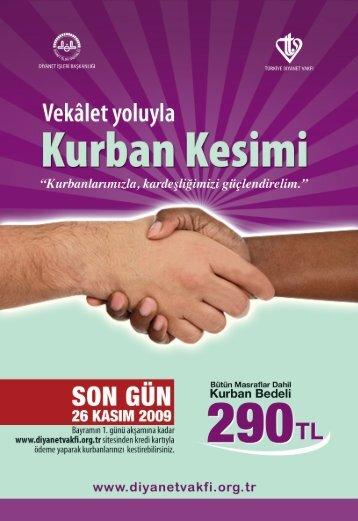 kurban_brosur yurtici - Türkiye Diyanet Vakfı