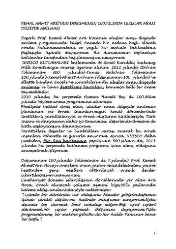 Yazının Devamı için Tıklayınız... - İstanbul Teknik Üniversitesi
