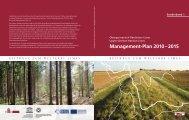 Management-Plan 2010 – 2015 - Deutsche Limeskommission