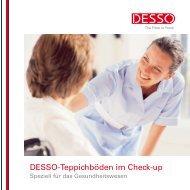 Healthcare Brochure - Desso.com - EN :: DESSO