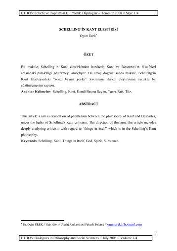 Schellingin Kant Elestirisi[1].pdf, 275 KB - ETHOS: Felsefe