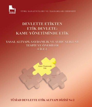 devlette etikten 2 - Etik Türkiye.com