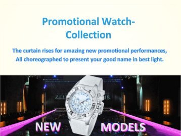 Promotional Watch- Collection 2017