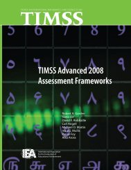 TIMSS Advanced 2008 Assessment Frameworks - TIMSS and ...