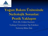 Yoğun Bakım Ünitesinde Nefrolojik Sorunlar: Pratik Yaklaşım