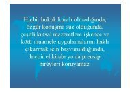 İstanbul Deklarasyonu - Halk Sağlığı AD, Ege Üniversitesi Tıp Fak.