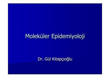 Moleküler Epidemiyoloji - Halk Sağlığı AD, Ege Üniversitesi Tıp Fak.