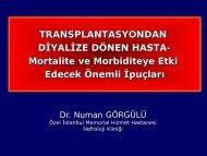 Mortalite ve Morbiditeye Etki Edecek Önemli İpuçları