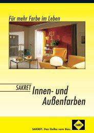 SAKRET. Das Gelbe vom Bau. - SAKRET GmbH