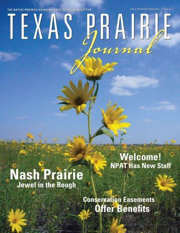 Nash Prairie - Native Prairies Association of Texas