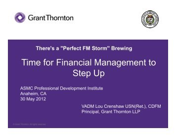 84. The Role of Financial Management in Challenging ... - PDI 2012
