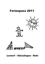 Donnerstag, 11. August 2011 Vormittag