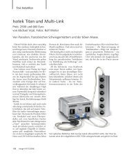 Testbericht zu IsoTek Titan mit Multi-Link  - Digital Unterhaltungs AG