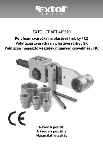EXTOL CRAFT 419310 - Elny.cz