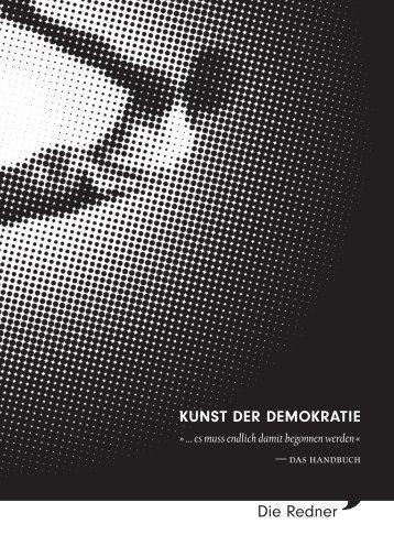 KUNST DER DEMOKRATIE - Die Redner