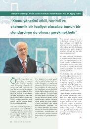 Türkiye Ortadoğu Amme İdaresi Enstitüsü Genel Müdürü Prof. Dr ...