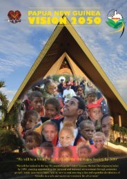 Papua New Guinea Vision 2050 - Department of Education