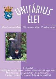 Kéthavonta megjelenõ folyóirat • 2008. szeptember–október • 62 ...