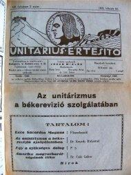 IZIO ZO - Unitárius tudás-tár