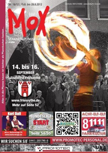 kalender - DIABOLO / Mox
