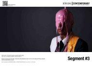 Segment #3 Sergisi'nin broşürü için tıklayınız. - Borusan Contemporary